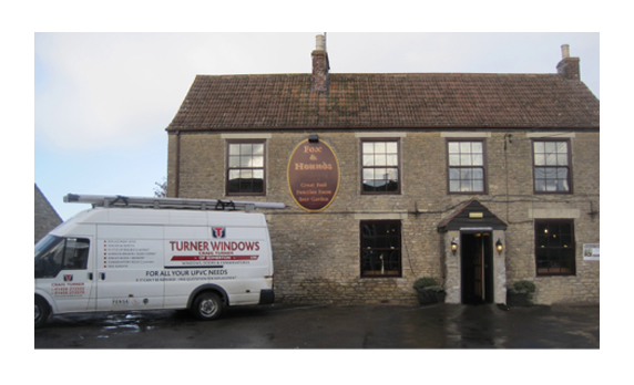 Replacement of Doors and windows in Village pub