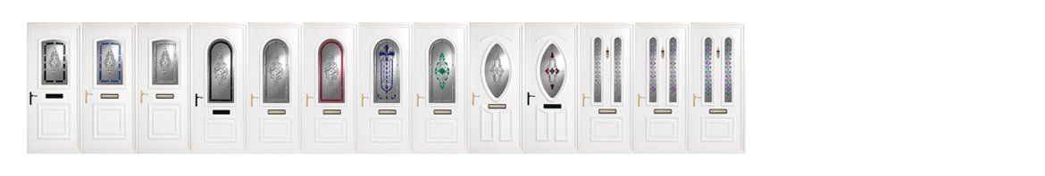 Resin Glass Door Panels